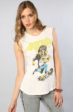 Chaser Anthrax Skater Muscle Tee :