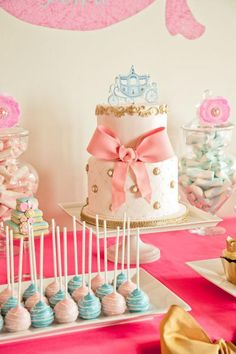 Cinderella Princess Party via @Kara Morehouse Morehouse Morehouse's Party Ideas .com