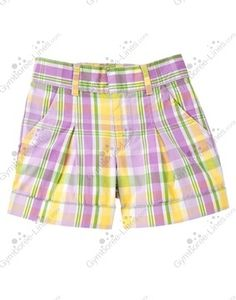 NWT Gymboree Plaid Cuff Short - Size 3 - 1 available - $14 shipped