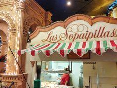 Sopaipillas at Casa Bonita http://casabonitadenver.com