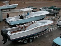 - The Hull Truth - Boating and Fishing Forum Used Fishing Boats, Sport Fishing Boats, Cool Boats, Small Boats, Center Console Boats, Deck Boat, Cabin Cruiser, Below Deck, Life Aquatic
