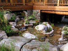 Travail d'aménagement de cette magnifique cascade dans les Laurentides. #Waterfall #Landscaping aménagement paysager #zen