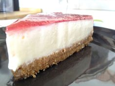 receta faciles de tartas receta fácil casera de Tarta fresca de queso receta casera tarta de queso receta casera cheesecake postres fáciles ...