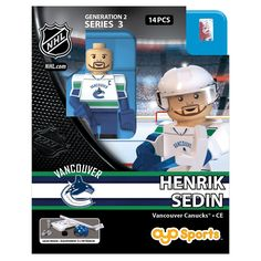 Vancouver Canucks NHL OYO Sports Mini Figure: Henrik Sedin