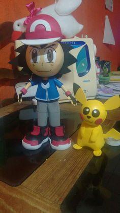 Fofucha pikachu y As
