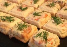 Recette de Terrine de saumon aux crevettes   Guy Demarle