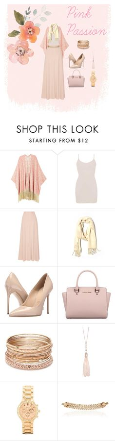 """""""Pink Passion"""" by salahmariamghazaly on Polyvore featuring Melissa McCarthy Seven7, BKE core, The Row, Coach, Massimo Matteo, Michael Kors, Red Camel, Oasis, BKE and Maison Mayle"""