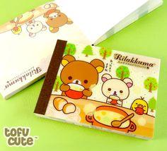 Buy San-X Rilakkuma Mini Memo Pad - Eating