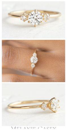 Engagement Rings Cushion, Yellow Engagement Rings, Classic Engagement Rings, Three Stone Engagement Rings, Beautiful Engagement Rings, Diamond Wedding Rings, 3 Stone Diamond Ring, Oval Engagement, Three Stone Rings