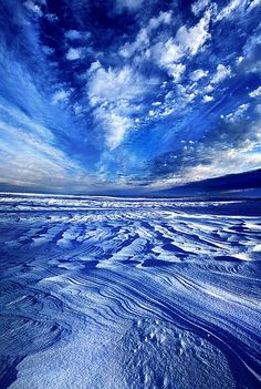 Walks The Edge ~ Phil Koch, photography, nature, winter, sky,