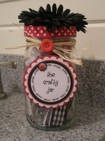 Karen's Sparkly World: Whimsy Jars!