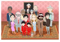 CUSTOM PORTRAIT I always wanted to be a Tenenbaum Art by suPmon, $65.00