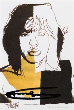 Mickelson Jagger, Andy Warhol