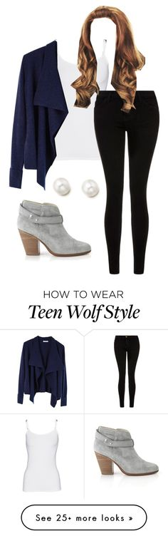 """""""Untitled #203"""" by natashayoung on Polyvore featuring rag & bone, Splendid, Current/Elliott, women's clothing, women's fashion, women, female, woman, misses and juniors"""