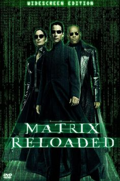 The Movies Database: [Posters] Matrix: Reloaded (2003)
