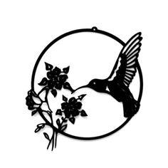 Kentucky Hummingbird Garden or Patio Metal Sign by RillaBee, $70.00