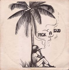 """Keith Hudson's 1974 release 'Pick A Dub' is widely regarded as one of the first, and most influential dub albums ever released. The album is very minimal, with very few sound effects that would come to be standard on many dub albums to follow – instead this is stripped down remixes of tracks like """"Declaration of Rights"""" and """"Satta Massa Gana"""" with a brutal emphasis on bass and drums, punctuated by vocal snippets. . More - http://reggaealbumcovers.com/keith-hudson-pick-a-dub-1975/"""