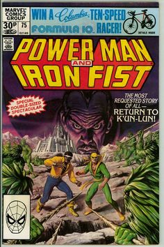 Power Man and Iron Fist 75 (VG/FN 5.0) pence