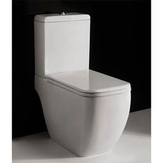 Rak Metropolitan Close Coupled Modern Toilet With Soft Seat At Victorian Plumbing Uk My Spares