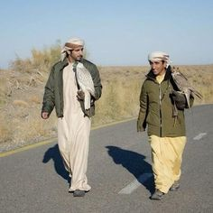 Hamdan MRM con su tío Saeed MJM, 2013 Vía: uncle_saeed
