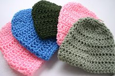 All Things Fee: Crochet: A Baby Hat