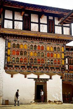 Paro Dzong, Bhutan #travel