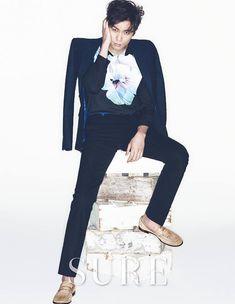 Choi Daniel Takes Off Glasses and Puts on Print for Sure Magazine Asian Celebrities, Asian Actors, Korean Actors, Lee Jin Wook, Choi Jin Hyuk, Go Soo, Choi Daniel, Cha Seung Won, Lee Byung Hun