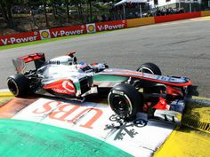 Jenson Button dominated from the front