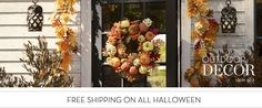 fall wreath, pottery barn.