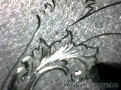 Hand Engraving Fine shading Berling Letter S by Shaun Hughes