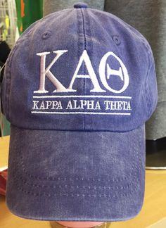 Kappa Alpha Theta: Classic Hat