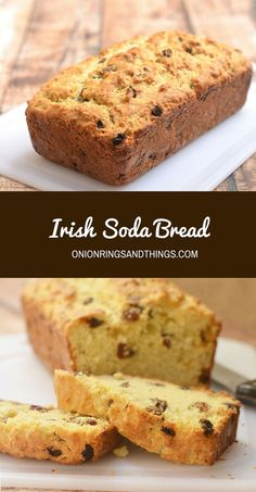 Irish Soda Bread with a delicious golden crust on the outside, moist and fluffy on the inside, and generously studded with plump raisins is the best quick bread loaf you'll ever have! It's perfect for all your St. Patrick's celebration but just as good all year long.