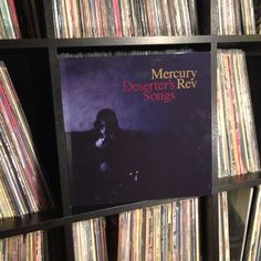 """When it rains, it pours technicolor raindrops"" #nowspinning #mercuryrev #deserterssongs #vinyl #recordcollection #joy 1998"