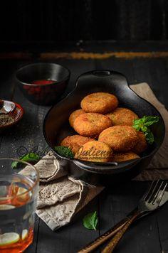 Cubes N Juliennes: Paneer and Mixed Vegetable Cutlets/Patties