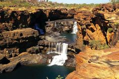 best camping spots in Australia Australia Travel, Western Australia, Mitchell Falls, Australia Holidays, Washington, Best Swimming, Helicopter Tour, Camping Spots, Walkabout