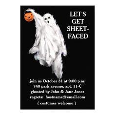 Halloween Invitations Halloween Chandelier Shimmery White