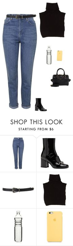 """Untitled #1657"" by tayloremily218 on Polyvore featuring Topshop, Gucci, Forever 21, Marc Jacobs, Dot & Bo and Yves Saint Laurent"