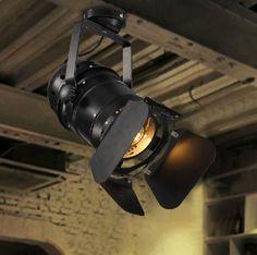 Aliexpress.com: Koop 110 240v e27 edison lamp klassieke vintage loft spots plafond licht industriële retro restaurant prestaties enscenering lampen van betrouwbare lamp koper leveranciers op ABC Lighting