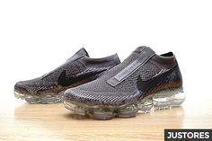 67c094f7b04 Comme Des Garons x NikeLab VaporMax Flyknit men s running shoes gray.  justores · Supreme sneaker · 2018-039 Cheap Nike ...