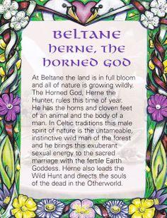 BELTANE - Herne, the Horned God