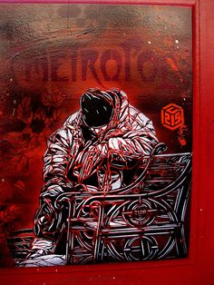 C215 - Paris by C215, via Flickr
