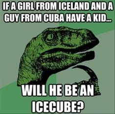 Yes. And a guy from Holland and a girl from the phillipines will be little jalepenos.lol