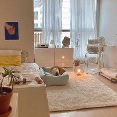 Room Ideas Bedroom, Bedroom Decor, Deco Studio, Pastel Room, Minimalist Room, Pretty Room, Aesthetic Room Decor, Cozy Room, Dream Rooms