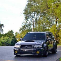 Do love Subaru Foresters and this one is no exception. Jdm Subaru, Subaru Cars, Subaru 4x4, Subaru Forester Sti, Subaru Impreza, Japanese Domestic Market, Subaru Wagon, Subaru Legacy, Sweet Cars
