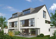 Bilder und Fotos vom Bauvorhaben Doppelhäuser in Krailling