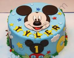 Image result for fondant 1 year old boy cake topper