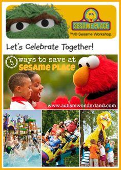 AutismWonderland: Ways To Save Money at Sesame Place