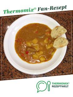 Gulaschsuppe von Thermomix Rezeptentwicklung. Ein Thermomix ® Rezept aus der Kategorie Suppen auf www.rezeptwelt.de, der Thermomix ® Community.