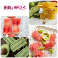 Tequila popsicles