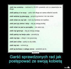 BESTY.pl - Garść sprawdzonych rad jak postępować ze swoją kobietą Girl Quotes, Words Quotes, Wise Words, Weekend Humor, Crush Love, Best Boyfriend, Some Quotes, Wtf Funny, Good Thoughts